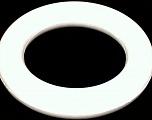 Circular Sytrofoam for Door Wreath. 5cm (2&amp) wide. Outer diameter: 30cm (12&amp). Inner diameter: 20cm (8&amp) White, Brand ICE, acs-1003