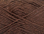 Width is 3 mm Fiber Content 100% Polyester, Brand Ice Yarns, Copper, Brown, fnt2-51851