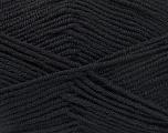 Fiber Content 50% Bamboo, 50% Acrylic, Brand Ice Yarns, Black, Yarn Thickness 2 Fine  Sport, Baby, fnt2-53087