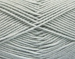 Fiber Content 50% Bamboo, 50% Acrylic, Light Grey, Brand Ice Yarns, Yarn Thickness 2 Fine  Sport, Baby, fnt2-53088