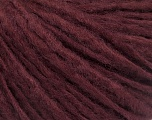 Fiber Content 50% Acrylic, 50% Wool, Brand ICE, Burgundy, Yarn Thickness 4 Medium  Worsted, Afghan, Aran, fnt2-53510