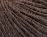Fiber Content 50% Merino Wool, 25% Alpaca, 25% Acrylic, Brand ICE, Brown Melange, Yarn Thickness 4 Medium  Worsted, Afghan, Aran, fnt2-53596