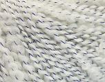 Fiber Content 90% Acrylic, 10% Polyamide, White, Lavender, Brand ICE, fnt2-53937
