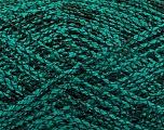 Fiber Content 80% Acrylic, 20% Polyamide, Brand ICE, Green, Black, fnt2-53999