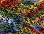 Fiber Content 60% Acrylic, 40% Polyamide, Rainbow, Brand ICE, Black, fnt2-54316