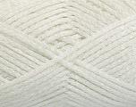 Fiber Content 80% Acrylic, 20% Polyamide, White, Brand ICE, fnt2-54436