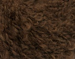 Fiber Content 45% Acrylic, 25% Wool, 20% Mohair, 10% Polyamide, Brand ICE, Brown, Yarn Thickness 4 Medium  Worsted, Afghan, Aran, fnt2-55227