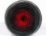 Fiber Content 50% Acrylic, 50% Cotton, Red, Brand ICE, Grey Shades, Burgundy, Black, Yarn Thickness 2 Fine  Sport, Baby, fnt2-55241