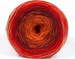 Fiber Content 50% Acrylic, 50% Cotton, Yellow, Red, Orange, Maroon, Brand ICE, Yarn Thickness 2 Fine  Sport, Baby, fnt2-55246
