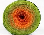 Fiber Content 50% Acrylic, 50% Cotton, Orange Shades, Brand Ice Yarns, Green Shades, Yarn Thickness 2 Fine  Sport, Baby, fnt2-55254