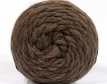 Fiber Content 100% Wool, Brand ICE, Brown, Yarn Thickness 6 SuperBulky  Bulky, Roving, fnt2-55483