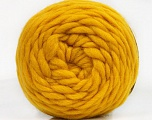 Fiber Content 100% Wool, Yellow, Brand ICE, Yarn Thickness 6 SuperBulky  Bulky, Roving, fnt2-55489