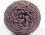 Fiber Content 100% Wool, Lilac, Brand ICE, Yarn Thickness 6 SuperBulky  Bulky, Roving, fnt2-55492