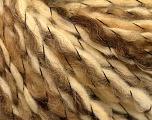 Fiber Content 80% Wool, 6% Polyamide, 14% Acrylic, Brand ICE, Cream, Camel, fnt2-56313