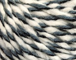 Fiber Content 50% Wool, 50% Acrylic, White, Brand ICE, Grey, Black, fnt2-56315
