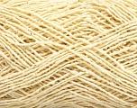 Fiber Content 39% Cotton, 35% Polyamide, 26% Silk, Brand ICE, Cream, fnt2-56654