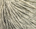 Fiber Content 54% Wool, 43% Acrylic, 3% Viscose, Brand ICE, Cream, Black, Yarn Thickness 4 Medium  Worsted, Afghan, Aran, fnt2-56880
