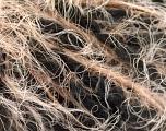 Fiber Content 40% Polyamide, 25% Wool, 20% Acrylic, 15% Alpaca, Brand ICE, Grey, Cream Shades, Black, fnt2-57146