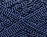 Fiber Content 100% Cotton, Navy, Brand ICE, Yarn Thickness 1 SuperFine  Sock, Fingering, Baby, fnt2-57184