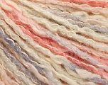 Fiber Content 50% Acrylic, 50% Cotton, Pink Shades, Light Lilac, Brand ICE, Cream, Yarn Thickness 4 Medium  Worsted, Afghan, Aran, fnt2-57280