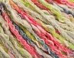 Fiber Content 50% Acrylic, 50% Cotton, White, Light Green, Brand ICE, Grey, Fuchsia, Yarn Thickness 4 Medium  Worsted, Afghan, Aran, fnt2-57285