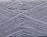 Fiber Content 80% Acrylic, 20% Polyamide, Light Lavender, Brand ICE, Yarn Thickness 3 Light  DK, Light, Worsted, fnt2-57376