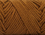 Items made with this yarn are machine washable & dryable. Fiber Content 100% Acrylic, Brand ICE, Caramel, Yarn Thickness 4 Medium  Worsted, Afghan, Aran, fnt2-57408
