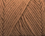 Items made with this yarn are machine washable & dryable. Fiber Content 100% Acrylic, Brand ICE, Camel, Yarn Thickness 4 Medium  Worsted, Afghan, Aran, fnt2-57409