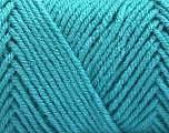 Items made with this yarn are machine washable & dryable. Fiber Content 100% Acrylic, Turquoise, Brand ICE, Yarn Thickness 4 Medium  Worsted, Afghan, Aran, fnt2-57420