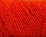 Items made with this yarn are machine washable & dryable. Fiber Content 100% Acrylic, Brand ICE, Dark Orange, Yarn Thickness 4 Medium  Worsted, Afghan, Aran, fnt2-57426
