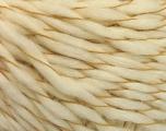 Fiber Content 90% Acrylic, 10% Cotton, Brand ICE, Cream, Yarn Thickness 3 Light  DK, Light, Worsted, fnt2-57452