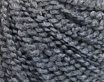 Fiber Content 60% Acrylic, 30% Wool, 10% Polyamide, Brand ICE, Grey, fnt2-57581