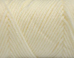 Items made with this yarn are machine washable & dryable. Fiber Content 100% Acrylic, Ivory, Brand ICE, Yarn Thickness 4 Medium  Worsted, Afghan, Aran, fnt2-57614