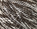 Fiber Content 60% Acrylic, 30% Wool, 10% Polyamide, White, Brand ICE, Dark Brown, fnt2-57686