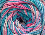 Fiber Content 100% Acrylic, Turquoise Shades, Pink Shades, Brand ICE, fnt2-57747