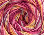Fiber Content 100% Acrylic, Yellow, Pink, Orchid, Lilac, Brand ICE, fnt2-57753