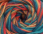 Fiber Content 100% Acrylic, Turquoise, Salmon, Jeans Blue, Brand ICE, Gold, fnt2-57765