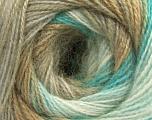 Fiber Content 75% Acrylic, 25% Angora, White, Turquoise, Brand ICE, Camel, Beige, fnt2-57799