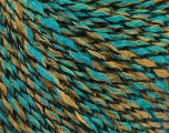 Fiber Content 60% Acrylic, 30% Wool, 10% Polyamide, Turquoise, Brand ICE, Camel, fnt2-57825