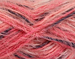 Fiber Content 55% Acrylic, 45% Polyamide, Salmon, Pink, Brand ICE, Anthracite, fnt2-57886