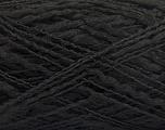 Fiber Content 90% Acrylic, 10% Polyamide, Brand ICE, Black, Yarn Thickness 3 Light  DK, Light, Worsted, fnt2-57891