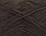 Fiber Content 50% Acrylic, 50% Cotton, Brand ICE, Dark Brown, fnt2-57913