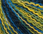 Fiber Content 50% Acrylic, 50% Wool, Brand ICE, Green Shades, Blue Shades, fnt2-57927