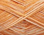 Fiber Content 80% Cotton, 20% Polyamide, Orange Shades, Brand ICE, fnt2-57934