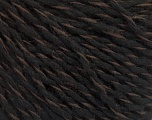 Fiber Content 50% Acrylic, 50% Wool, Brand ICE, Brown, Black, fnt2-57990