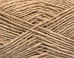 Fiber Content 50% Wool, 50% Acrylic, Brand ICE, Beige, fnt2-58044