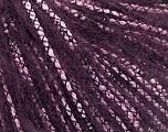 Fiber Content 50% Acrylic, 35% Mohair, 15% Polyamide, Purple, Pink, Brand ICE, fnt2-58077