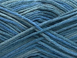 Fiber Content 100% Acrylic, Brand ICE, Blue Shades, fnt2-58164