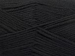 Fiber Content 100% Superwash Wool, Brand ICE, Black, fnt2-58180