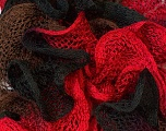 Fiber Content 100% Acrylic, Red, Brand Ice Yarns, Brown, Black, Yarn Thickness 6 SuperBulky  Bulky, Roving, fnt2-20674